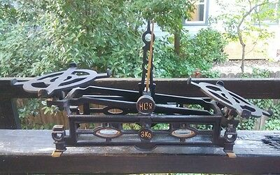 Antique Cast Iron HC 0 Balance Scale early 1900's