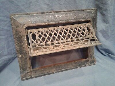Antique Ornate Patented Foster Swing Out Furnace Vent