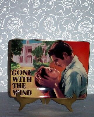 Gone With The Wind The Devotion Plate Ltd Ed Movie Of The Century #3 Rare!