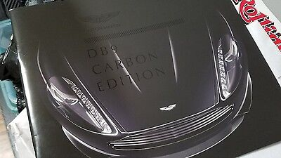 Aston Martin DB9 Carbon Edition Booklet