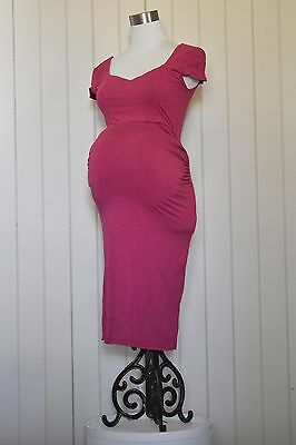 Gorgeous pink ASOS maternity dress. Sweetheart neck. VGC. Size 8