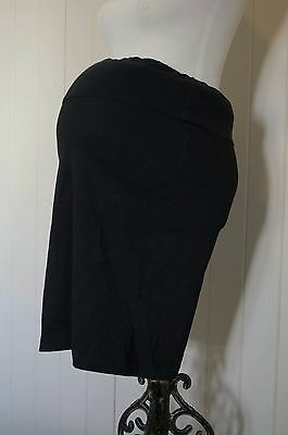 Black Pea in a Pod maternity knee length skirt. VGC. Size 10