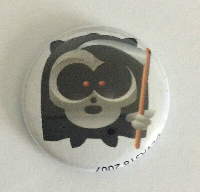 DEVAST8 1-inch BADGE Button Pin Grim Reaper Toon NEW OFFICIAL MERCHANDISE