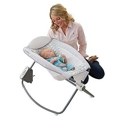 Rock And Play Sleeper Auto Rocker Swing Bouncer Soothing Unit Hands Free Rocking