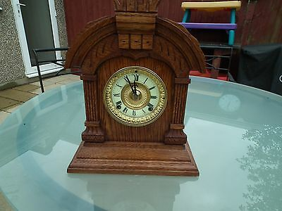 Antique Ansonia Tunis Mantle Clock c1882