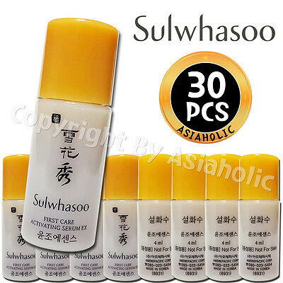 Sulwhasoo First Care Activating Serum EX 4ml x 30pcs (120ml) Sample AMORE Newist