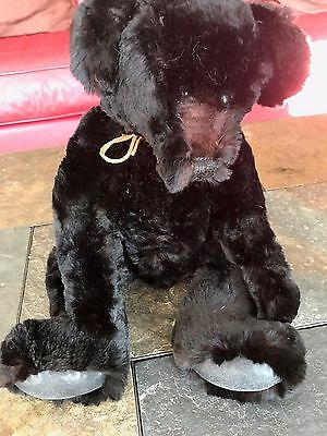 "Real Fur Teddy Bear made of Seal Fur 14""  - New without Tags"