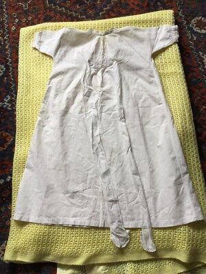 Antique Victorian Cotton Child's  Gown