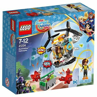 NEW LEGO DC Super Hero Girls - Bumblebee Helicopter 41234 Age: 7-12 .