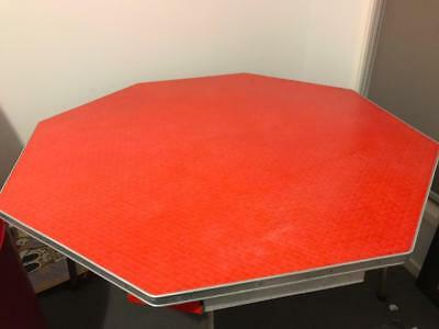 Original 1950's Red Dining Table