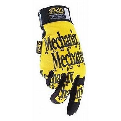 New Mechanix Gloves XL Yellow and Black