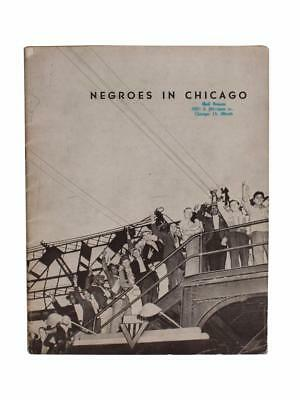 Negroes in Chicago Photo Book Dorothea Lange Civil Rights