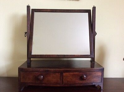 19th century swing toilet dressing mirror and drawers
