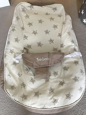 Bambeano Baby Bean Bag Support Chair -Natural colour with extra cover