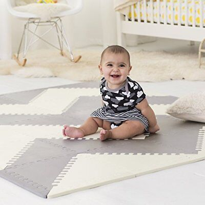 Mat Floor Foam Tile Playmat Exercise Solid Kids Multi Play Safety Baby Tiles