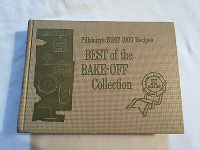 Vintage BEST OF BAKE-OFF COLLECTION Cook Book 1959 PILLSBURY'S 1000 RECIPES