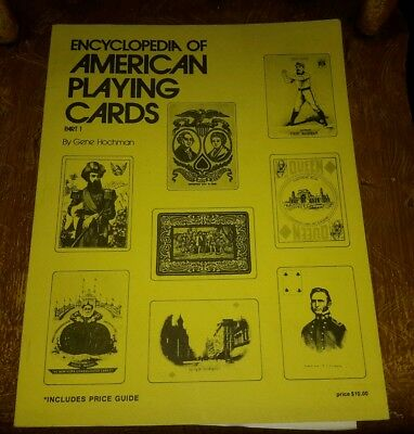 Vintage Guide To Antique American Playing Cards Book