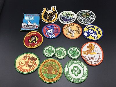 Vintage Girl Scout Patches & Misc Patches Girl Scout Badges
