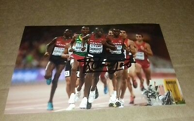 Timothy Cheruiyot Signed