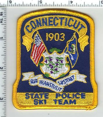 Connecticut State Police Ski Team Shirt/Jacket Patch - new from the 1990's