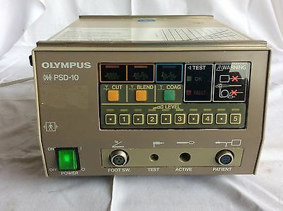 Olympus Type PSD-10 HF - Surgery Device Electrosurgical Unit