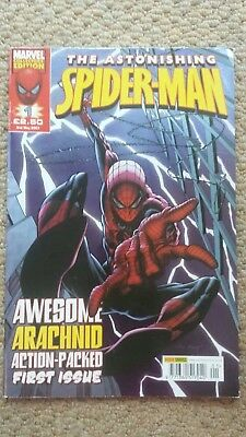 THE ASTONISHING SPIDER-MAN No.1 (2nd May 2007) Marvel Great Condition