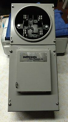 MYERS - Metered Temporary Power Outlet Panel 100 AMP