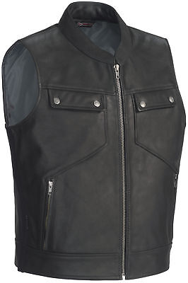 Tourmaster Nomad Leather Vest Powersports Motorcycle