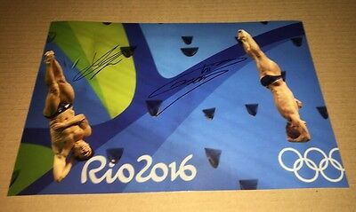 Jack Laugher & Chris Mears Signed