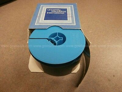 NEW YORK TIMES ON MICROFILM 1974 APX. 33 REELS  see list