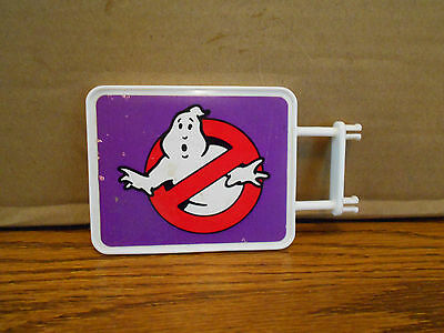 Vintage Kenner REAL GHOSTBUSTERS Firehouse Sign Replacement Part Headquarters
