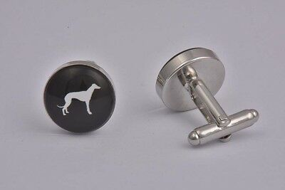 Dog Greyhound Cufflinks