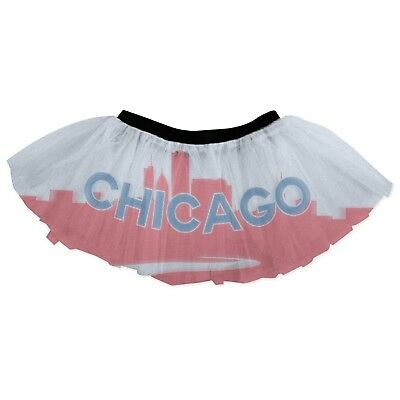Gone For a Run Runner's Printed Tutu Chicago City Skyline. Shipping is Free