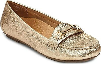 (6 B(M) US, Gold) - Vionic with Orthaheel Technology Women's Kenya Loafer. Deliv