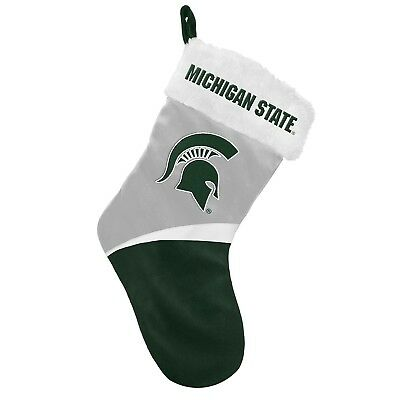 Michigan State Spartans Basic Holiday Stocking - 2016. Free Delivery