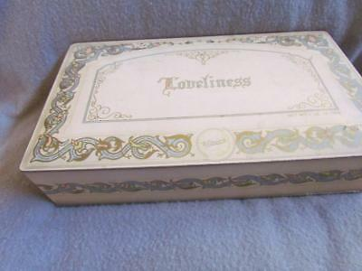 "Vintage Whitman's Candy Tin ""Loveliness"""
