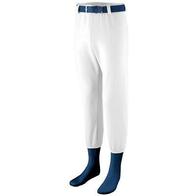 (Small, White) - Augusta Sportswear BOYS' PULL-UP PRO BASEBALL PANT. Delivery is