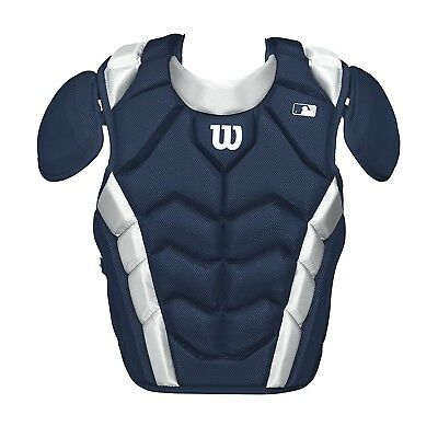 (42cm , Navy) - Wilson Pro Stock Chest Protector. Shipping Included