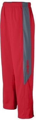 (Large, Red/Graphite) - Augusta Sportswear BOYS' MEDALIST PANT. Free Shipping