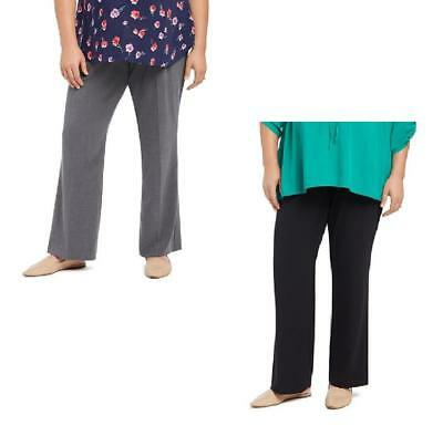 3X NEW Plus Maternity Pants Oh Baby by Motherhood Gray or Black Secret Fit NWT