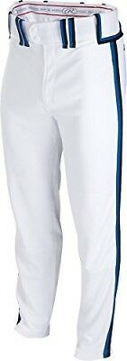 (X-Large, White/Black/Royal) - Rawlings Sporting Goods Boys Youth Semi-Relaxed P