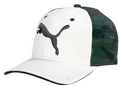 (One Size, Bright White/Camo) - Puma Golf 2017 Men's Go Time Hat. Delivery is Fr
