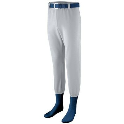 (Large, Silver Grey) - Augusta Sportswear BOYS' PULL-UP PRO BASEBALL PANT. Deliv