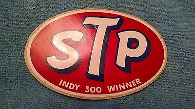 Vtg NOS STP Sticker Indy 500 Winner