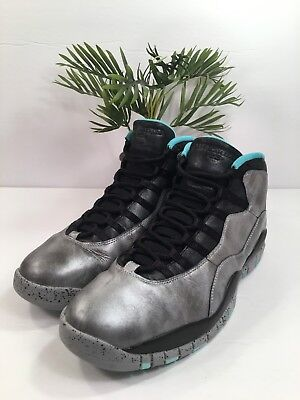 f183ce301e5f NIKE AIR JORDAN X 10 Retro Lady Liberty Dust Black 705178-045 SZ 13 ...
