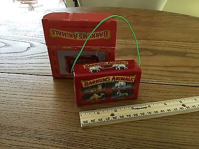 Barnums Bailey Animals Crackers Nabisco Display Novelty Box - Unusual