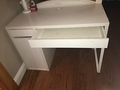 Ikea White Desk With Drawers And Left Side