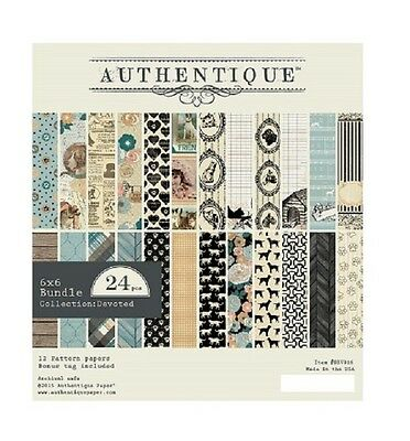 Authentique 6x6 Paper Pad - Devoted