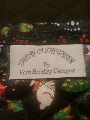 Vera Bradley Book Cover Fabric Paperback Tavern On The Green Retired Pattern
