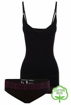 NEW Firm Fit Cotton Camisole and Bikini Set
